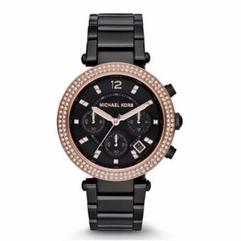 Michael Kors Parker Black Ladies Watch MK5885