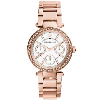 Michael Kors Women's MK5616 Parker Rose Gold Tone Stainless Steel Watch