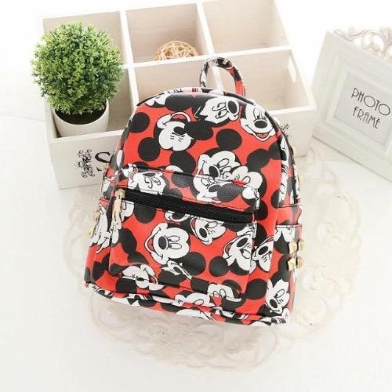 Mickey Backpacks (Red)