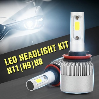 PAlight S2 Car LED Headlight For H1 H7 H8/H9/H11 9005/H10/HB3 9006/HB4 H4/HB2/9003 200W 20000LM Vehicle Auto Bulb(H8/H9/H11) - intl