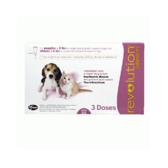 Revolution for Puppy & Kitten 3 Doses