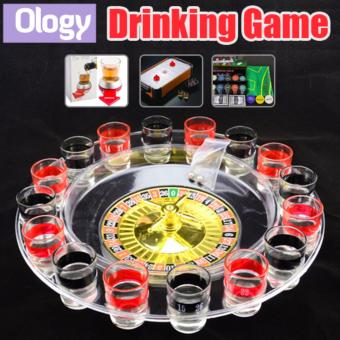 Roulette Drinking Games Board Game Set Party Gift Idea