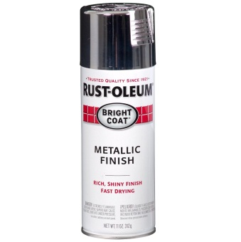 Rust-Oleum Stop Rust Metallic Spray 11oz (Chrome)