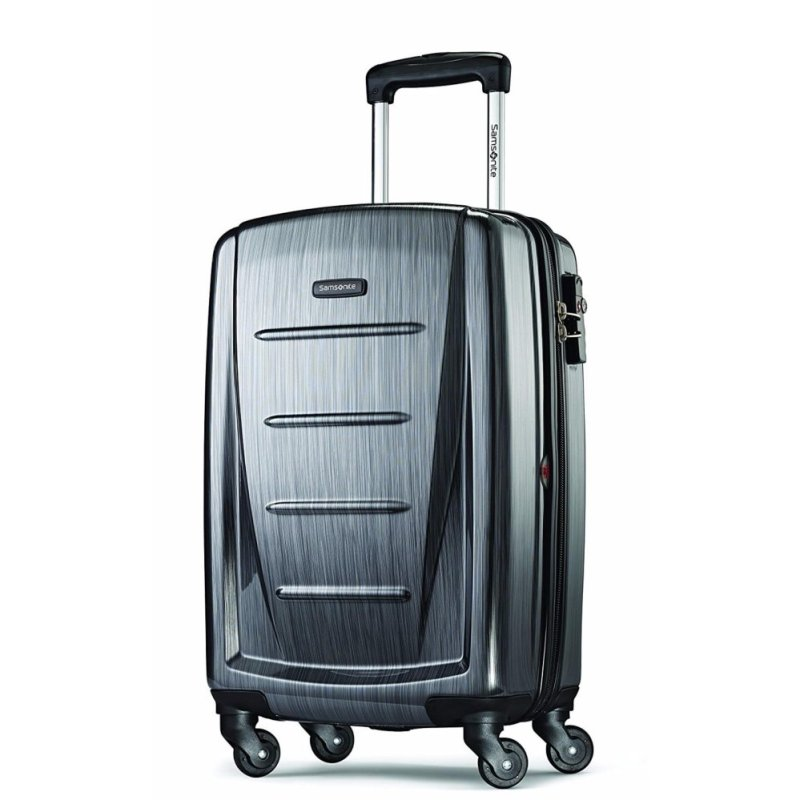 Samsonite Winfield 2 Fashion HS Spinner 20 Luggage Carrier Suitcase, Charcoal