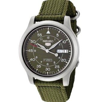 Seiko 5 Automatic Military with Nylon Strap Watch SNK805K2