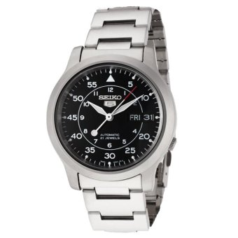 Seiko 5 Automatic Stainless Steel Strap Watch SNK809K1