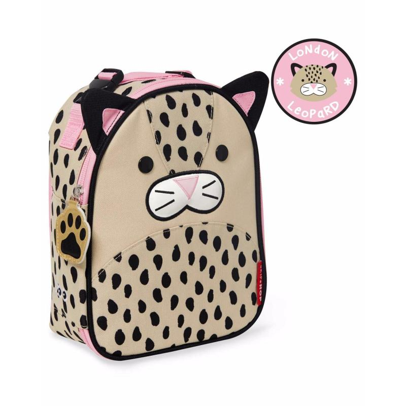 Skip Hop Zoo Lunchie Insulated Kids Lunch Bag - Leopard