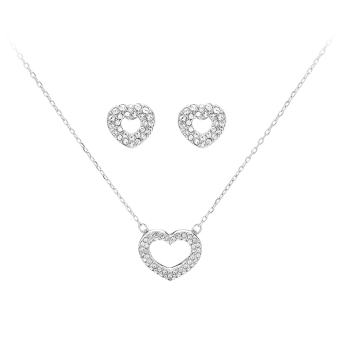 Swarovski Beloved Necklace & Earrings Set - intl
