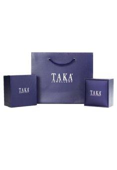 TAKA Jewellery Galaxe Diamond Earrings (9K White Gold) - 2