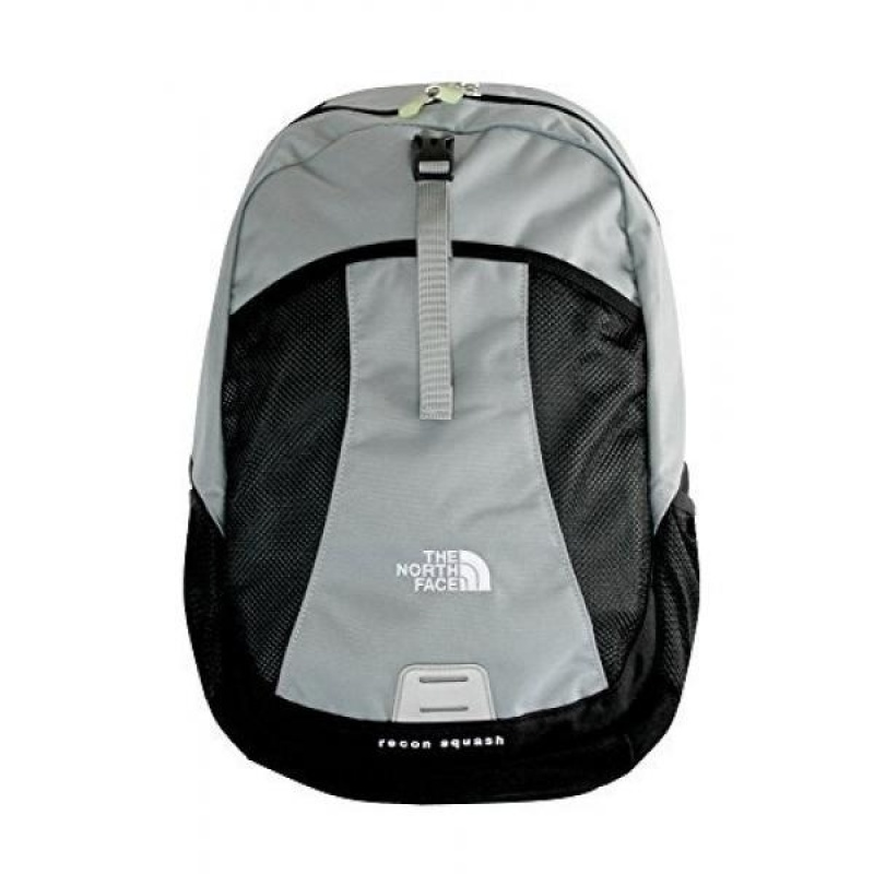 The North Face Recon Squash Kids BACKPACK BAG 14.5X11.5X3 MONUMENT GREY - intl