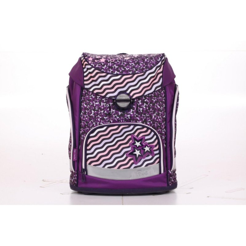 Tiger Family Ergonomic Schoolbag - Silky Soft (Shooting Stars)