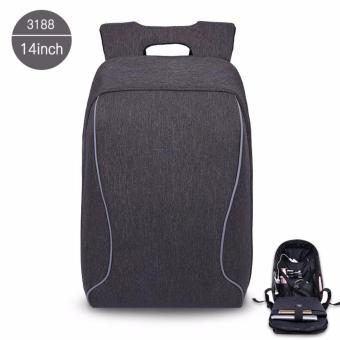 Harga Tigernu Fashion Casual Anti-theft Design 14 inches Laptop Backpack3188 - intl