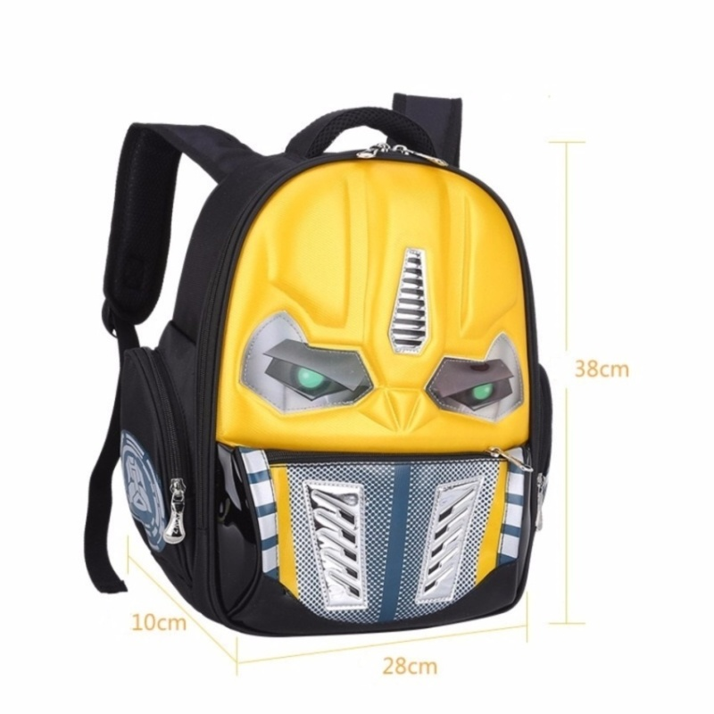 Transformers School Bag Children 4-12Years Kids Backpack MochilaBag Waterproof Cartoon Boys Bag - intl