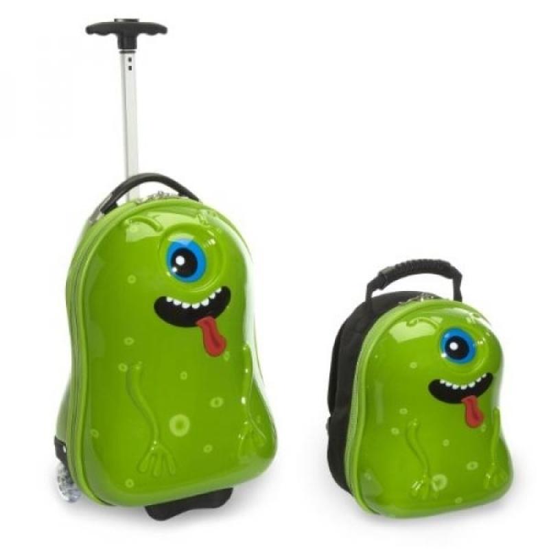 Travel Buddies Luggage Set, Archie Alien - intl