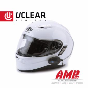 UCLEAR AMP Go Bluetooth Helmet Audio System - 3