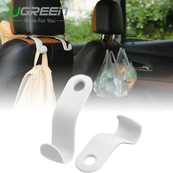 Harga UGREEN 2Pcs/set Car Back Seat Headrest Hanger Holder Hooks (Beige)