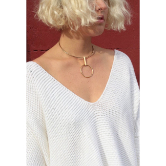 Wbw necklace hm cos female geometric clavicle chain