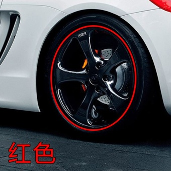 Harga Wheel stickers car wheels decorative stickers