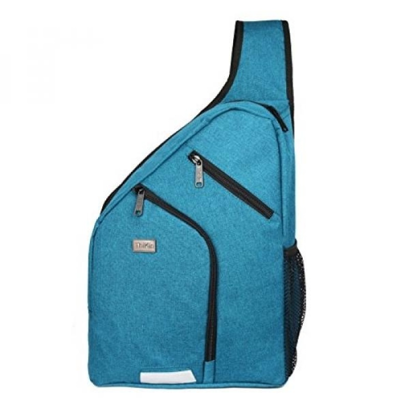 Youngerbaby Sturdy Crossbody Sling Bag Men Women Casual Travel Chest Bag - intl