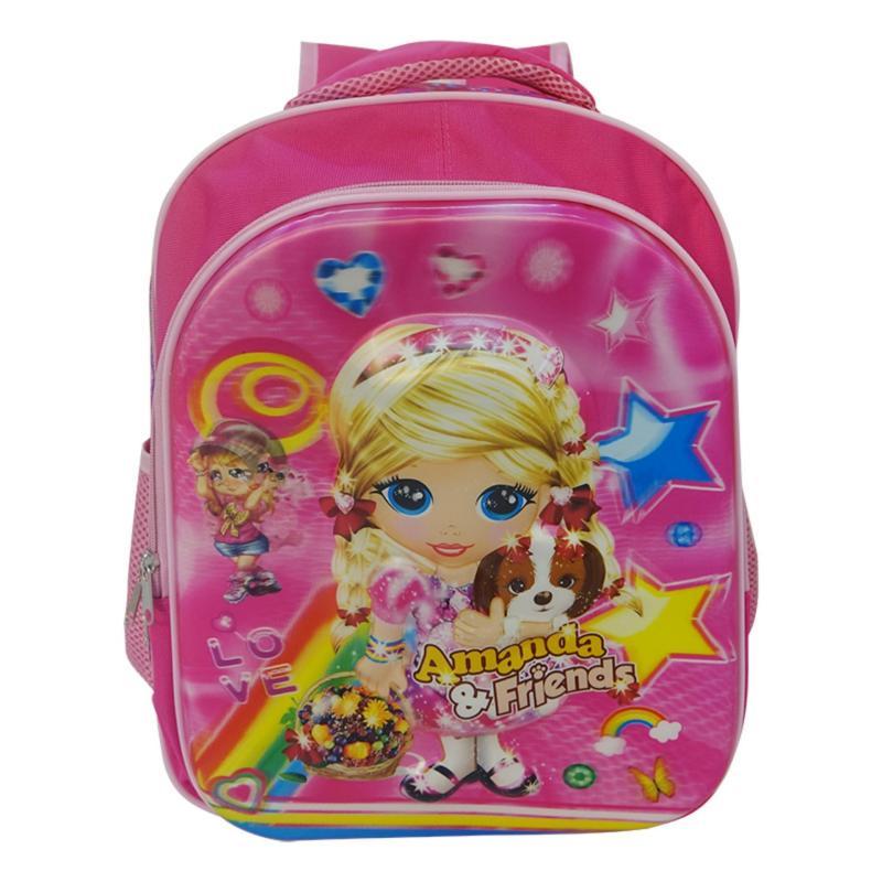 Ziyan Baby Boys Girls Schoolbag Cute Cartoon Minion Backpack Kids Printing Backpack Waterproof Printing School Bags - intl