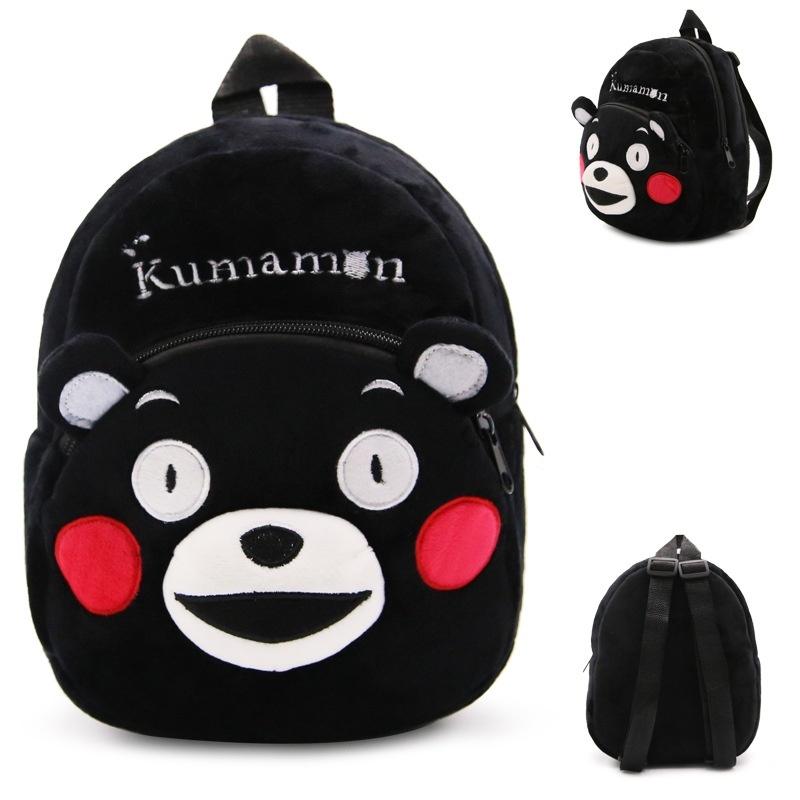 ZZOOI high quality japan kumamoto baby child plush cute mini backpack - intl