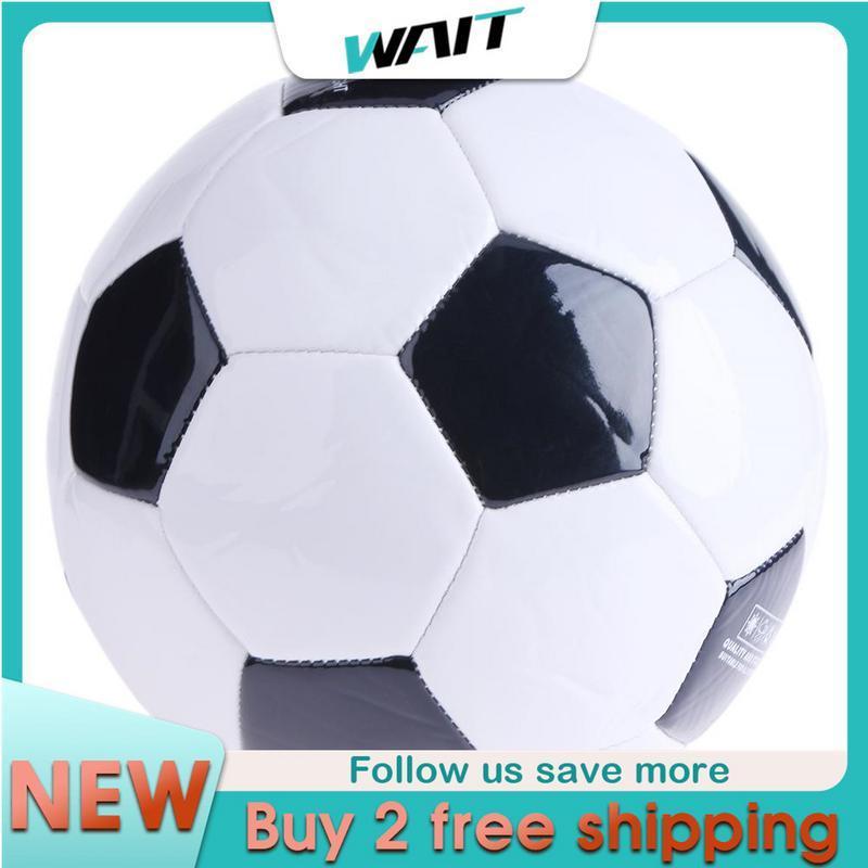 ยี่ห้อนี้ดีไหม  DengDeng Soft Classic NO.3 Black ขาวขนาดมาตรฐาน Soccer Ball Training Football