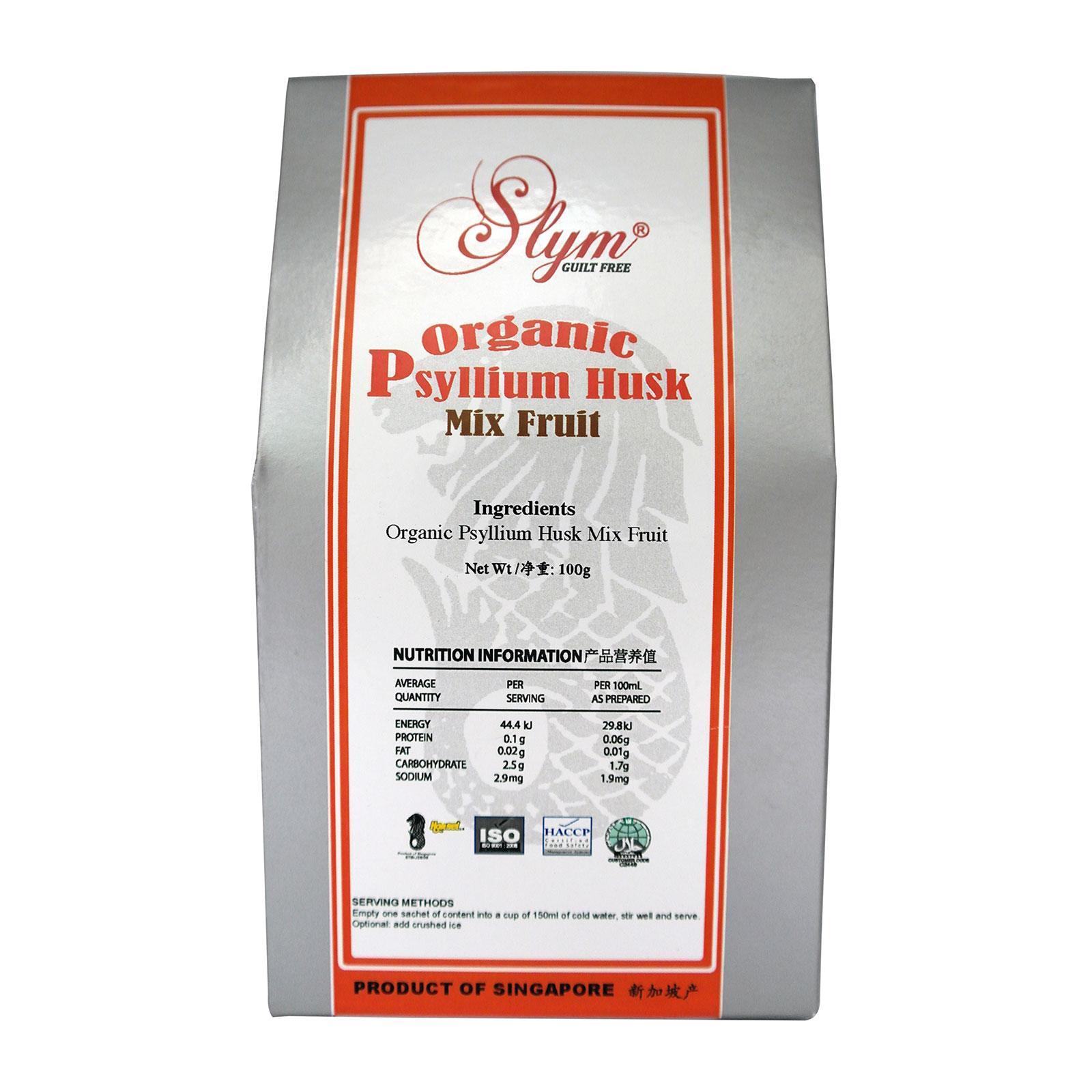 Slym Organic Mix Fruit Psyllium Husk