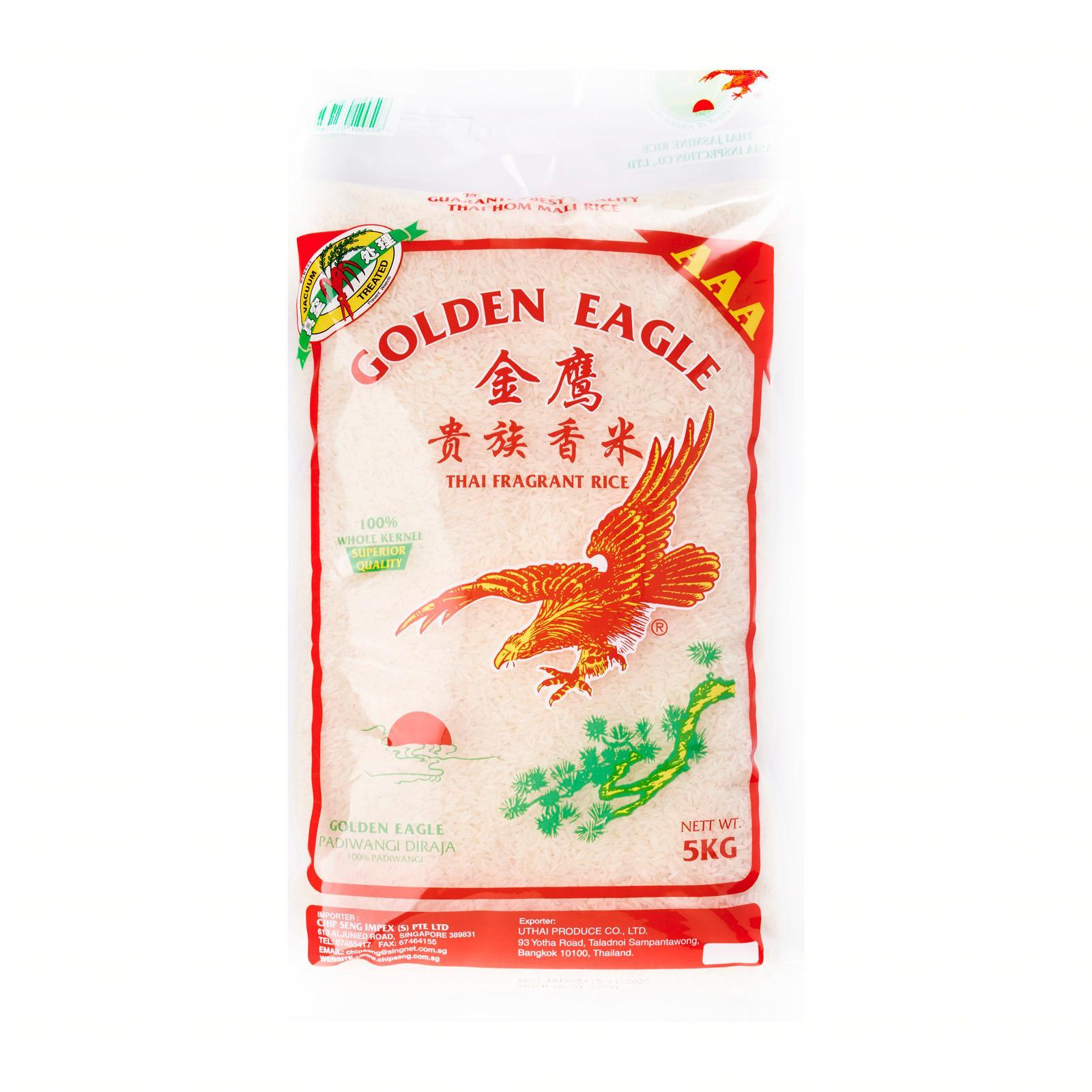Golden Eagle Thai Fragrant Rice