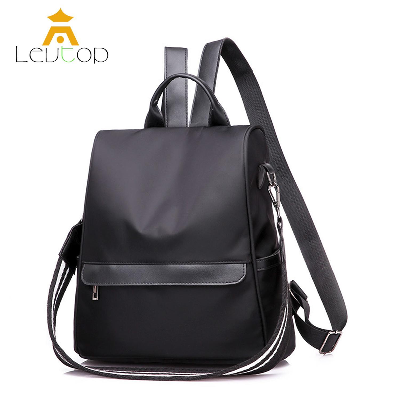กระเป๋าสะพายพาดลำตัว นักเรียน ผู้หญิง วัยรุ่น สตูล LEVTOP Women Backpack Travel Shoulder Bag School Korean Anti Theft Back Pack Handbag Sling Bag Cross Body Bag