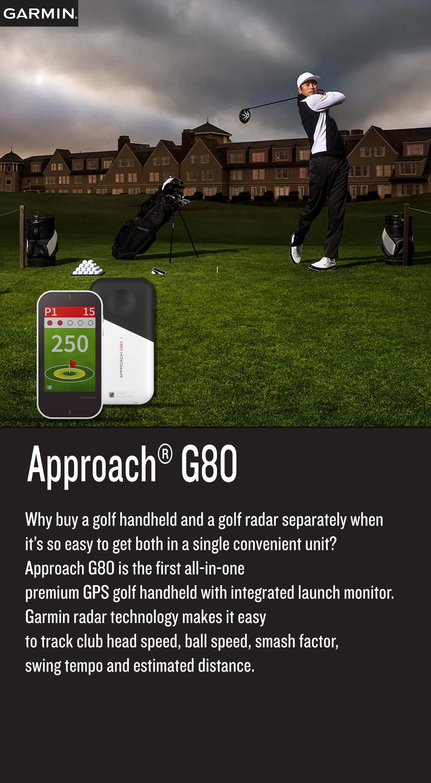 Garmin Approach G80 Handheld Golf GPS 3 5