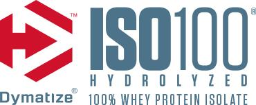 Dymatize ISO-100. Hydrolyzed. 100% Whey Protein Isolate.