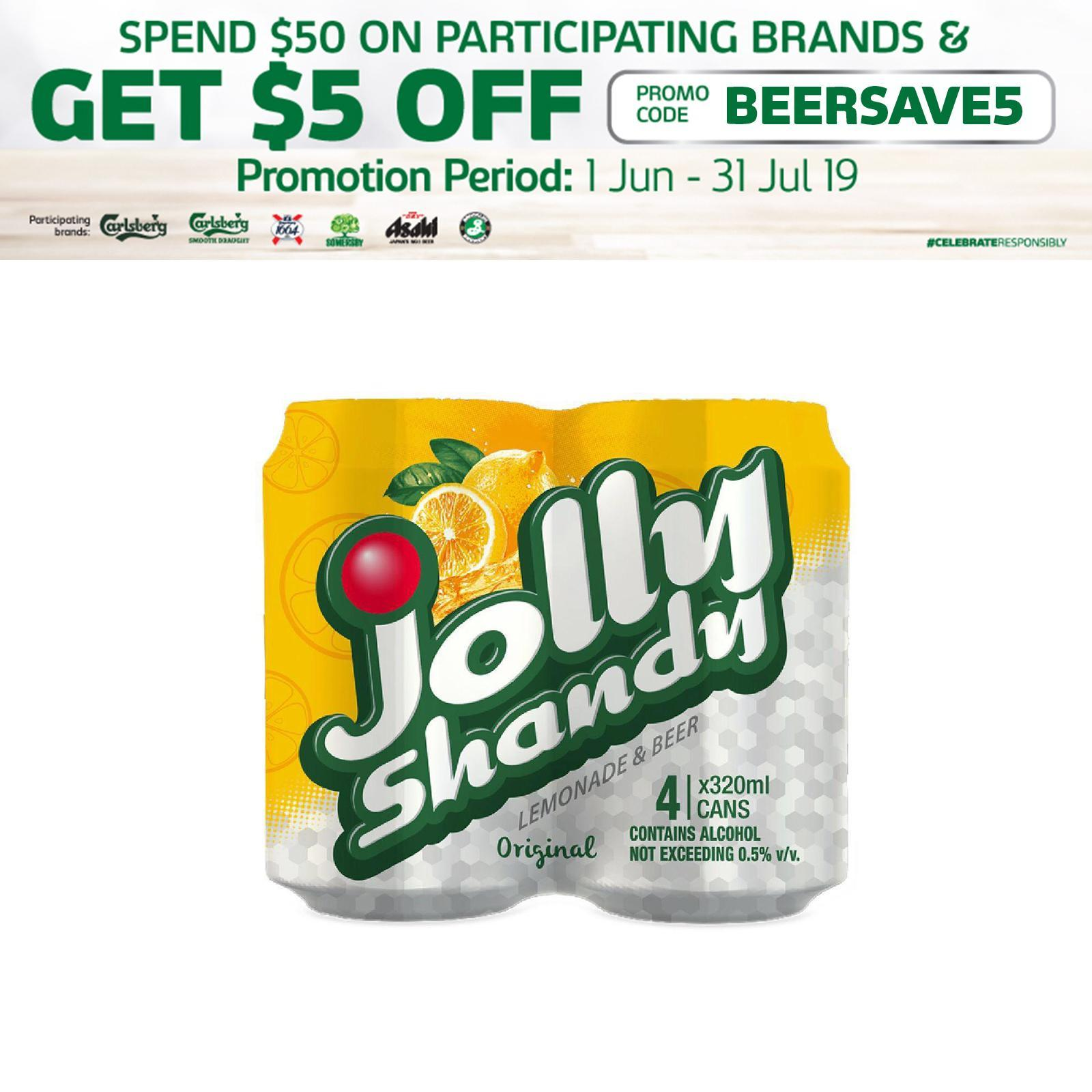 Jolly Shandy 4x 323ml Buy Sell Online Radler Flavoured Beer With