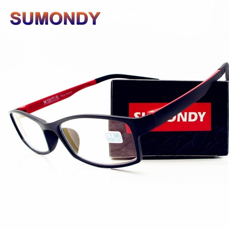 -1.0 -1.5 -2.0 -2.5 -3.0 -3.5 -4.0 -4.5 -5.0 -5.5 -6.0 Frame Myopia Glasses Men Women High Quality Myopic Lens Eyewear