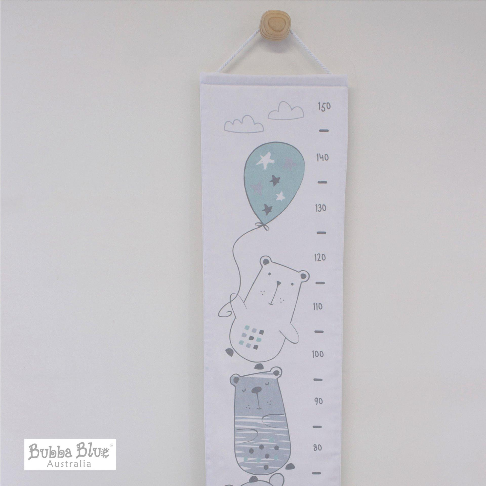 Bubba Blue Beary Happy Growth Chart