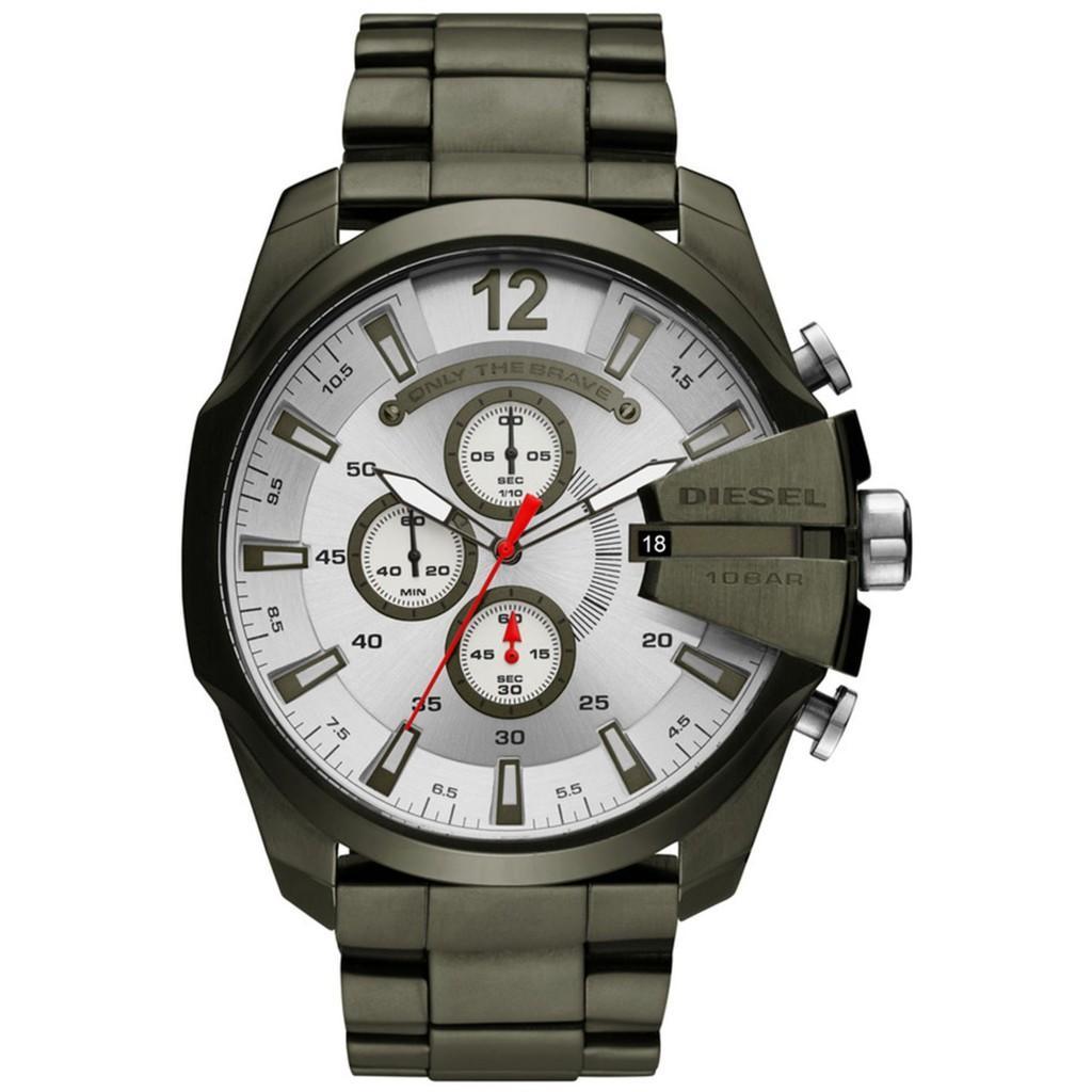 สอนใช้งาน  แพร่ ดีเซล Timeframes MEGA CHIEF นาฬิกาควอตซ์ที่เที่ยงตรง DZ4478 Mens นาฬิกา