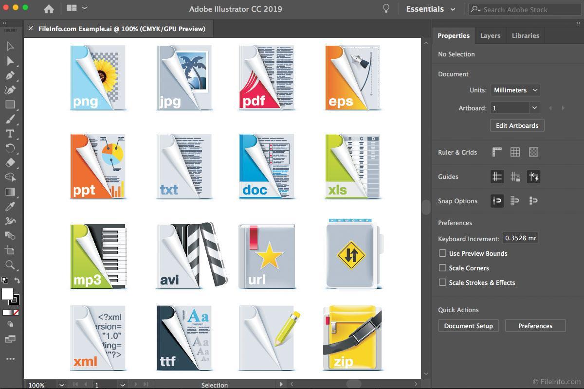Adobe illustrator cc 2019 mac