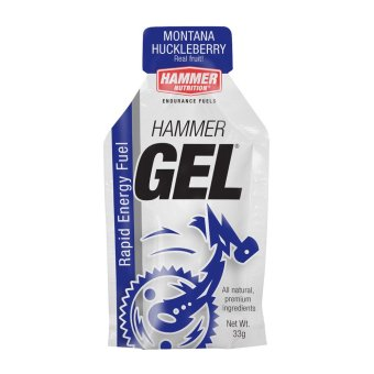 Hammer Gel Montana Huckleberry 24 Pack With Free Gift