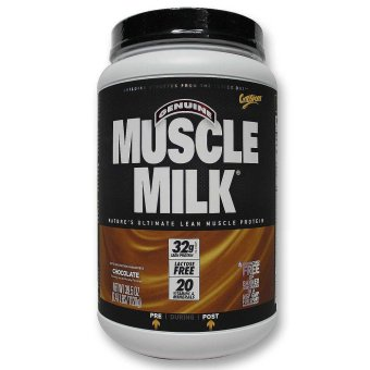 Muscle Milk Protein Powder Chocolate 2.47 lbs With Free Gift