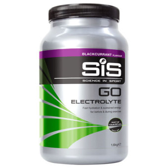 Science in Sport (SiS) Go Electrolyte Sports Fuel Blackcurrant 1.6kg 40 Servings With Free Gift